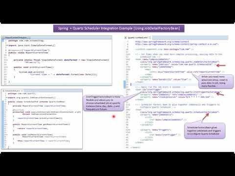 Quartz Scheduler In Java