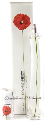 Womens Fragrances: Flower By Kenzo 3.3 3.4 Oz Eau De Parfum Spray For Women New In Box * Sealed * -> BUY IT NOW ONLY: $48.99 on eBay!