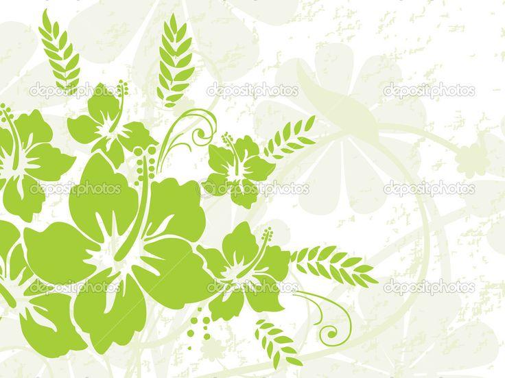 Скачать - Зеленая природа шаблон — стоковая иллюстрация #1678706