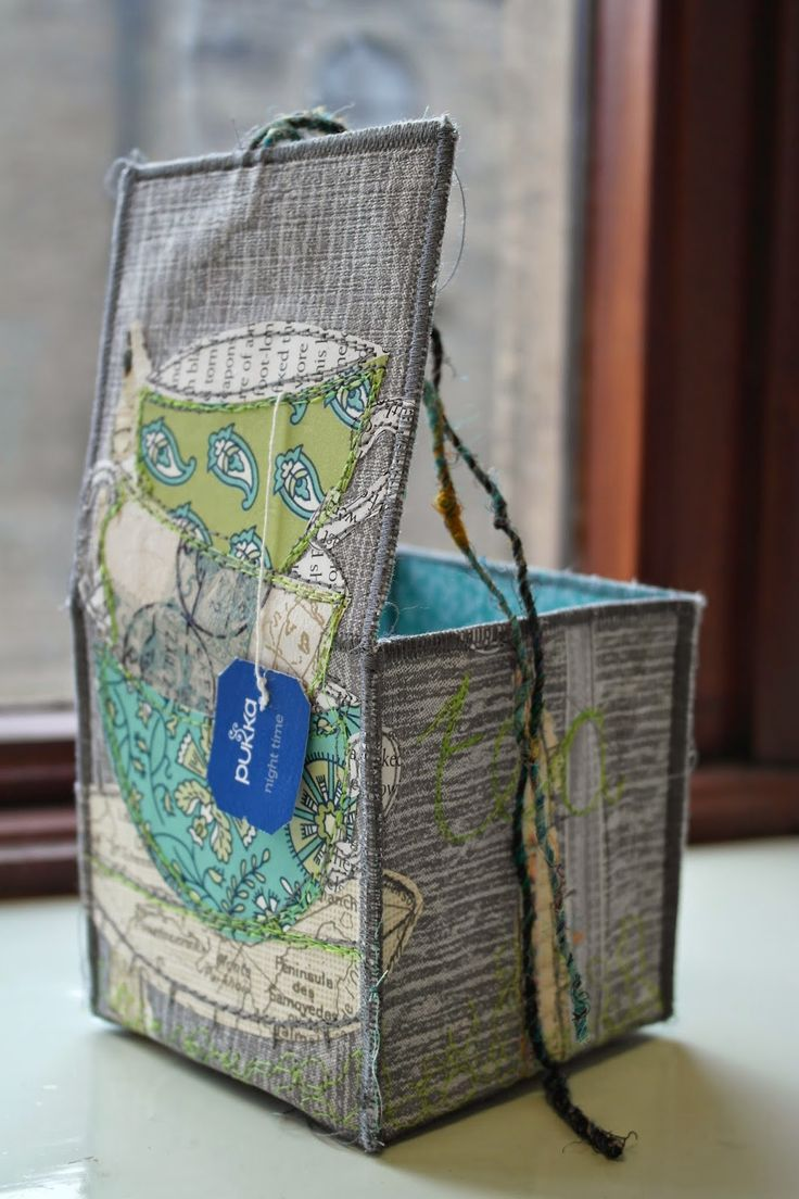 Handmade Fabric Basket Pattern : Best fabric boxes ideas on