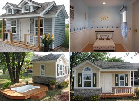 Unique Fancy Designer Dog Houses | For the dog owner with more money than sense, Doggydreamhomes.com ...