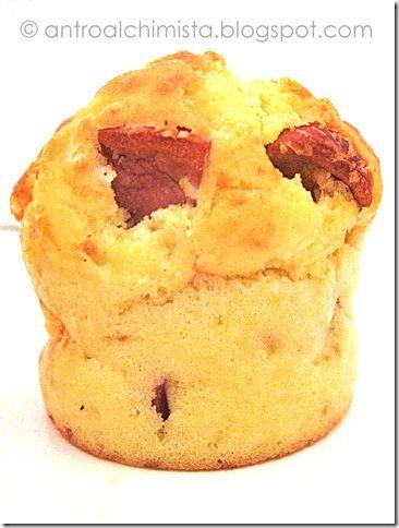 Muffin Wurstel e Parmigiano - Wurstel & Parmigiano Cheese Muffin
