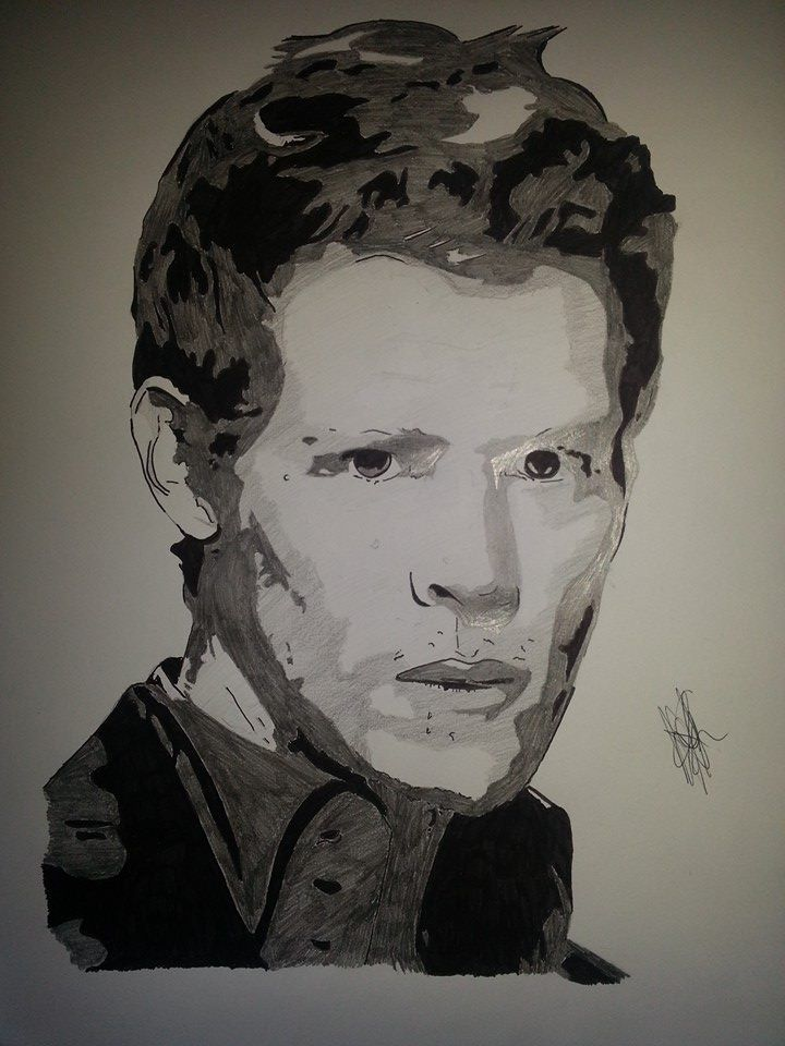 22 best emmris dessin images on pinterest drawing drawing teen wolf and the vampire diaries - Dessin vampire diaries ...
