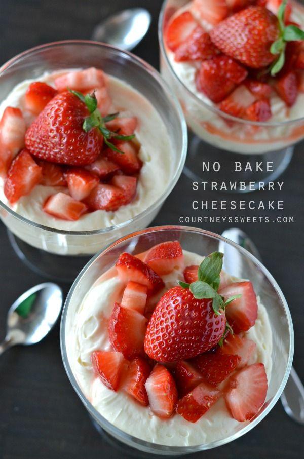 Lime Dessert Recipes Vegan Milk A Quick Simple And Delicious No Bake Strawberry Cheesecake Recipe