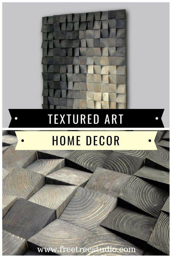 Texture Wood Wall Art Wood Wall Decor Sculpture Rustic Etsy Wood Wall Art Decor Grey Wall Art Wood Wall Sculpture