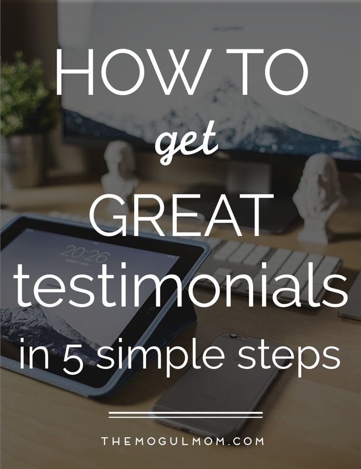 We all know that testimonials are vital to our business.     Testimonials establish your credibility as an expert and build the trust essential for closing sales because they give potential new clients actual examples of how we