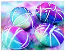 Πασχαλινά Αυγά με λαστιχάκια