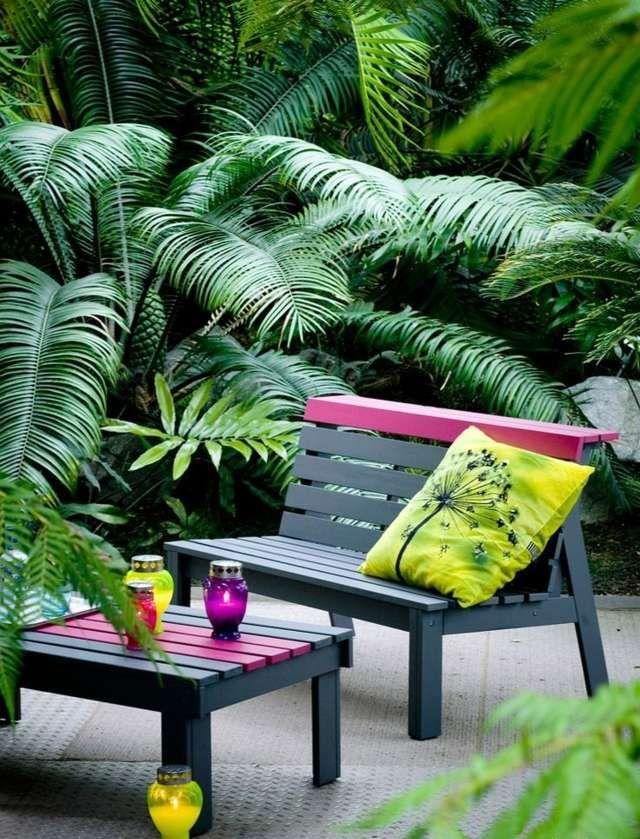 18 best cuisines du0027exterieur et barbecue images on Pinterest - banc en pierre pour jardin