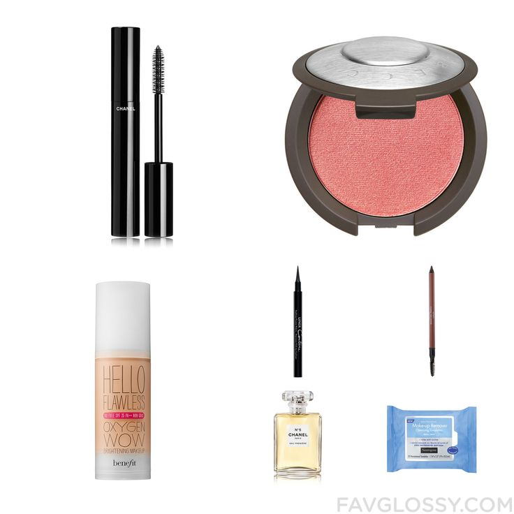 Makeup Goods Including Chanel Mascara Powder Blush Benefit Foundation And Givenchy From November 2016 #beauty #makeup