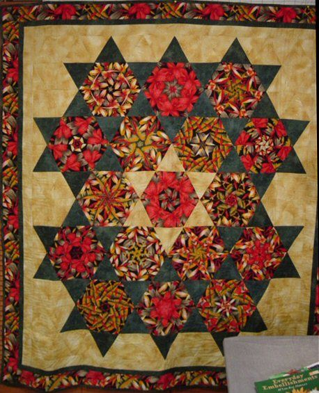 31 best images about Quilts-Stack-n-Whack/Kaleidoscope on Pinterest : stack and whack quilt tutorial - Adamdwight.com