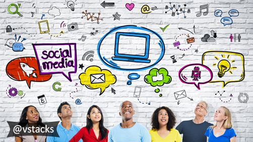 Are you aware, 92% of marketers confirm that social media has benefitted their business? Keep track of what your competitors are doing, contact vStacks Infotech for your social media requirements and stay ahead.  #social #media #vStacksInfotech