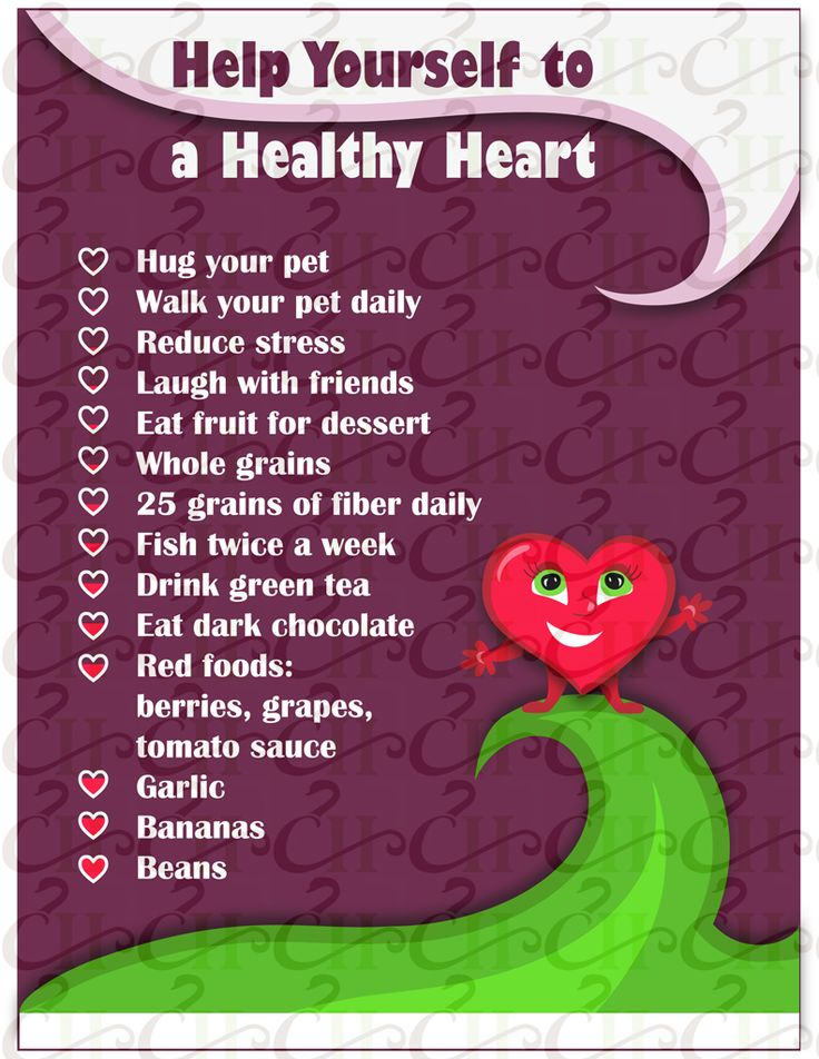 Heart Health Handout: Help Yourself to a Healthy Heart: www.HealthyHandout.com/handouts for MORE health and wellness printables