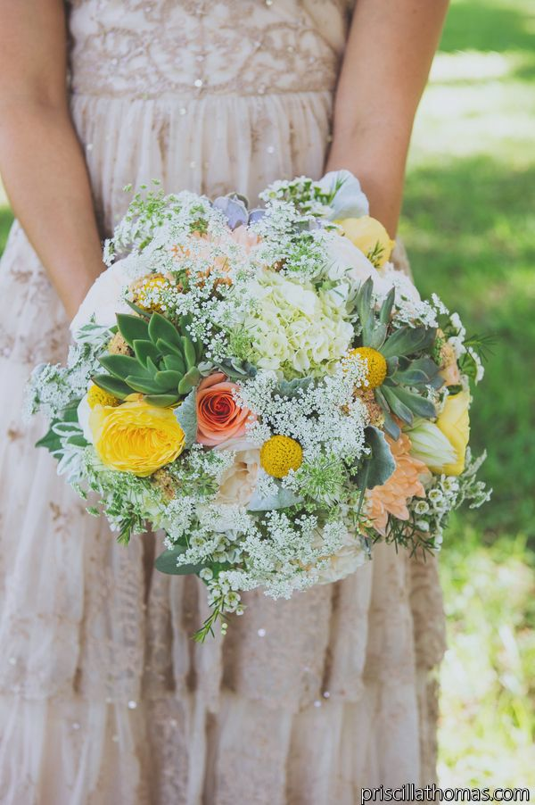 Queen Annes Lace Wedding Flowers Photos By Priscilla Thomas Photography