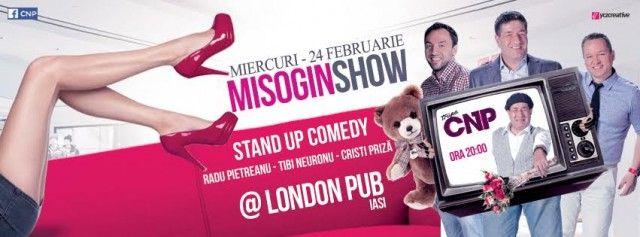 Misogin Show, cu trupa CNP