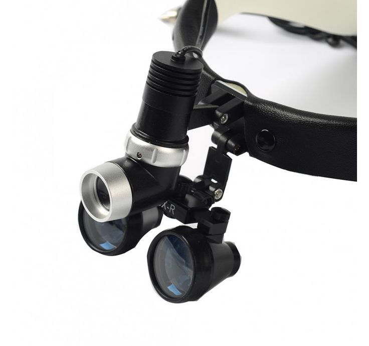 DENTAL SURGICAL LOUPES EASYINSMILE BINOCULAR LOUPE 2.5X 420MM HEAD TYPE WITH LED - EasyinSmile Dental|Dental Online supply|Dental Orthodontic|Endodontic