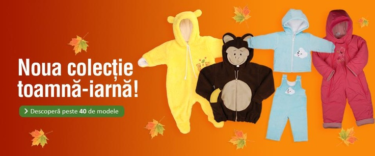 Noua colectie de toamna - iarna :) come in and find out!  http://www.pifou.ro/#