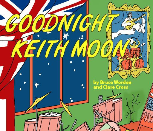 (not really kids stuff and yet....)Parody Book, Goodnight Keith, Comics Book, Gift Ideas, Birthday Gift, Keithmoon, Bruce Worden, Kids Gift, Keith Moon