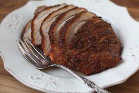 Barefeet In The Kitchen: Herb Rubbed Sirloin Tip Pork Roast