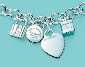 Tiffany charm bracelet! I've always wanted one of these so I can get different charms :)