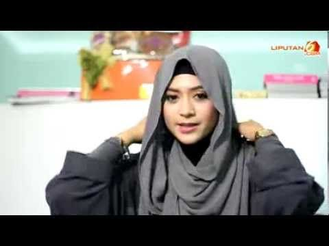 jilbab paling simple