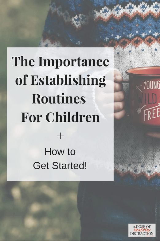 Establishing Routines For Children With ADD ADHD