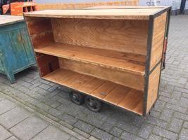 Industrial restored wagon