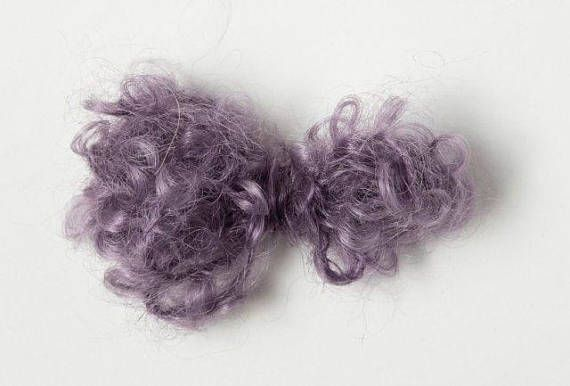 Stunning hand dyed, handspun, super soft. Yarn Pack 10 Balls Brushed Kid Mohair Amethyst Color. Visit the AfriYarn store on Etsy for details - LOW shipping worldwide. #mohair #knit #yarn #wool #crochet #etsy
