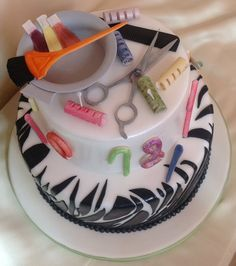 1000+ images about Hairstylist cake on Pinterest