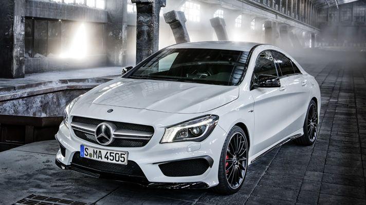The new Mercedes CLA 45 AMG