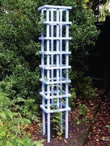 A huge collection of DIY garden projects → → http://www.resene.co.nz/homeown/gardens/garden_projects.htm