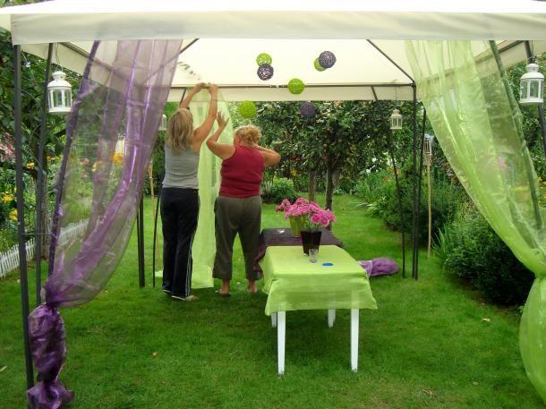 Urodziny PO - Pomysł jak urządzić urodzinki w ogrodzie +Zdjęcia