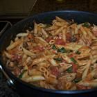 penne rosa - noodles and company copy cat recipe. I'm doing this, only subbing out the heavy cream.