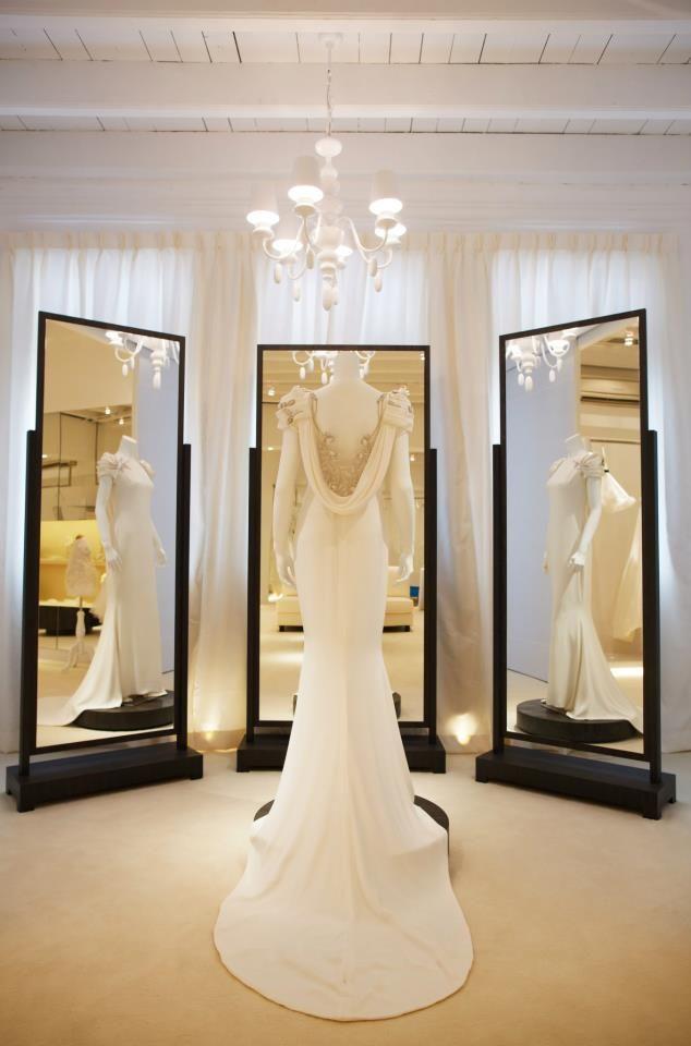 Wedding dress shop interior design for Best wedding dress stores in los angeles