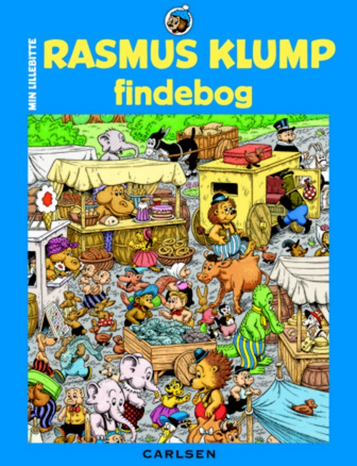 Min lillebitte Rasmus Klump findebog 2 | Arnold Busck