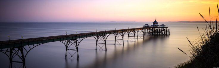 クリーブドン桟橋、サマセット (イングランド)