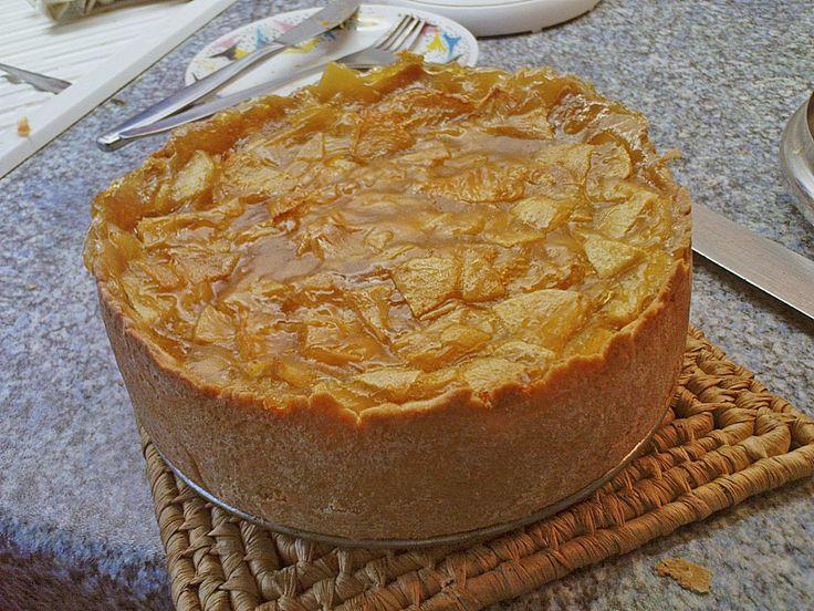 Apfel-Wein-Kuchen (Rezept mit Bild) von Gaby | Chefkoch.de