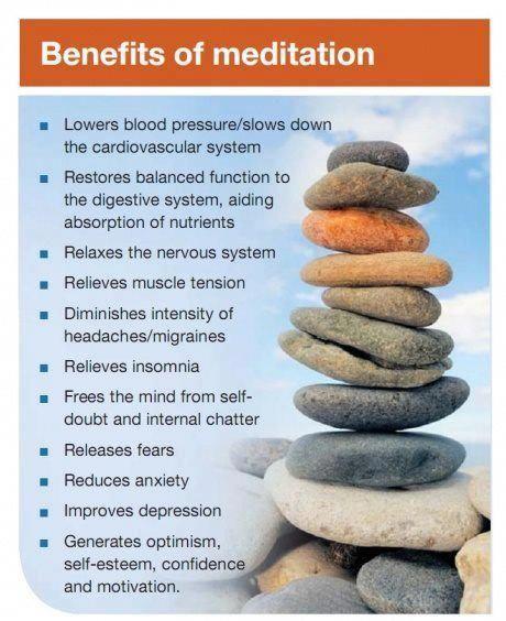 Meditación y algunos de sus beneficios