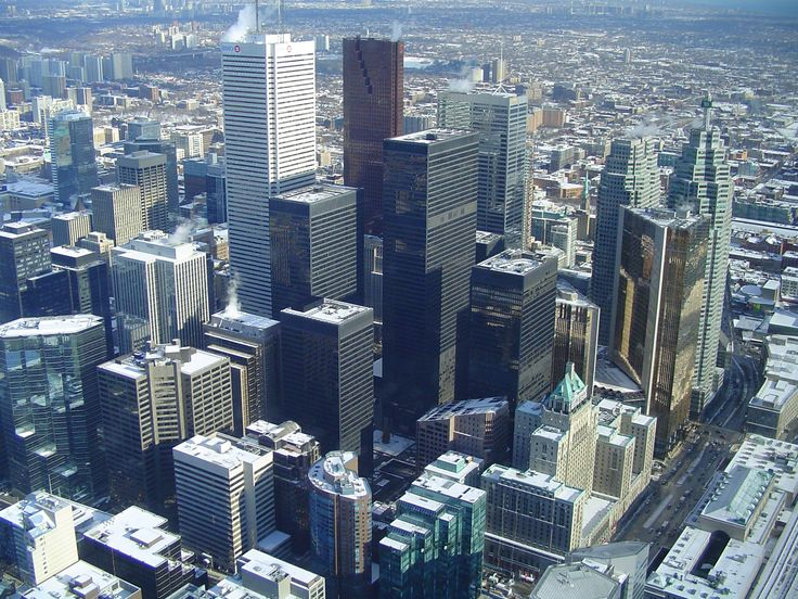 Toronto' s financial district