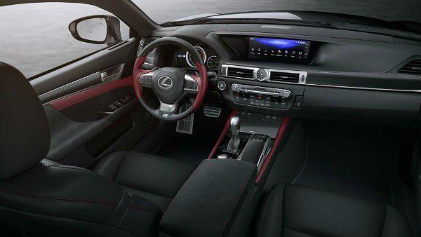 2020 Lexus Gs 350 F Sport Interior In 2020 Lexus Lexus Logo Luxury Sedan