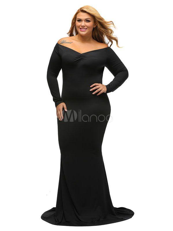 Black maxi dress uk sale