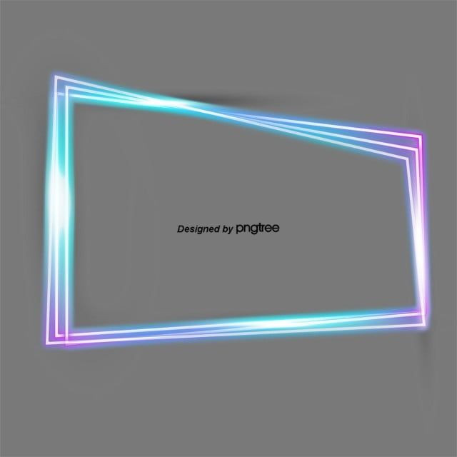 Fashionable Colorful Multi Line Neon Light Frame Geometric Border Dazzle Fluorescence Png Transparent Clipart Image And Psd File For Free Download In 2020 Neon Frame Clipart Neon Lighting