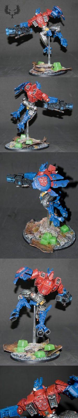 Armadura XV88 Apocalipsis optimus prime imperio tau warhammer 40000