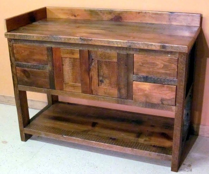 . 177 best Reclaimed wood   piping furniture images on Pinterest