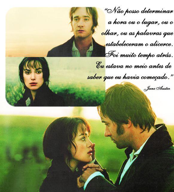 Descobrindo Jane Austen: Citação   Orgulho e Preconceito #1