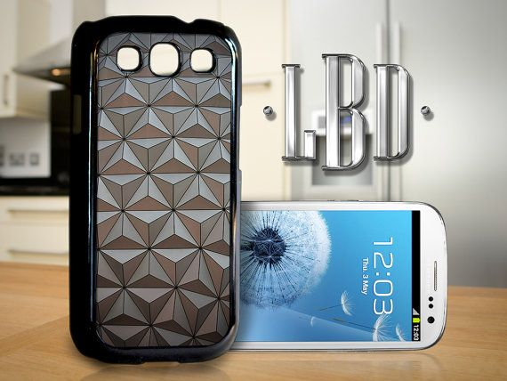 Galaxy S3 Case  Spaceship Earth Pattern by LBCustomDesignsLLC, $14.95
