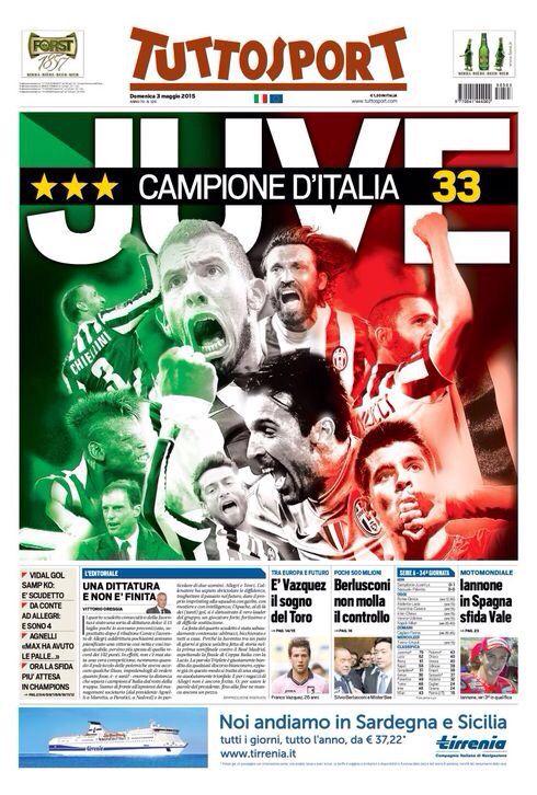 Juventus campioni d'Italia 2015 33