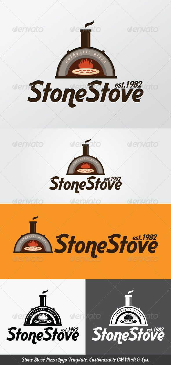 Stone Stove Pizza Logo Template  DOWNLOAD HERE: http://graphicriver.net/item/stone-stove-pizza-logo-template/3708870