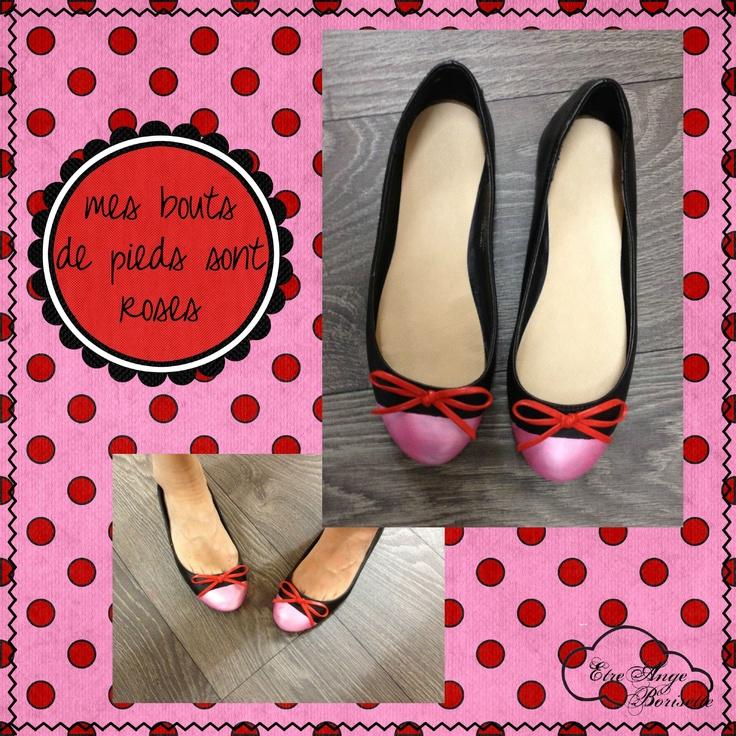 Mes bouts de pieds sont roses, avec explications