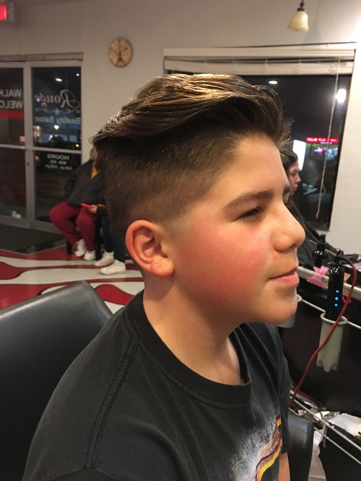 Cool boys haircut