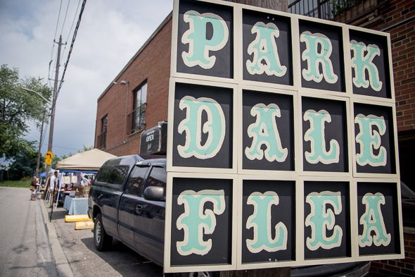 Inaugural Parkdale Flea brings the kitsch to Queen St.